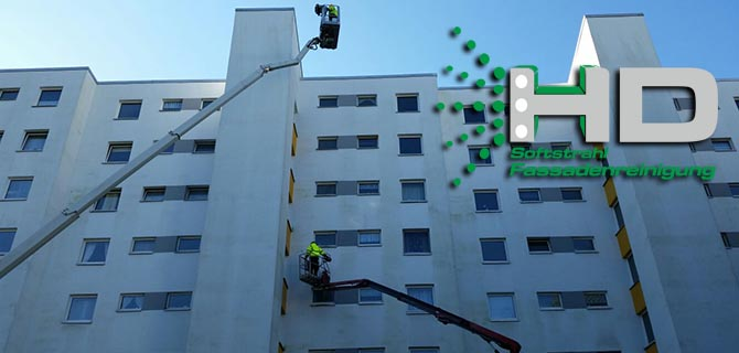 HD Softstrahl Fassadenreinigung
